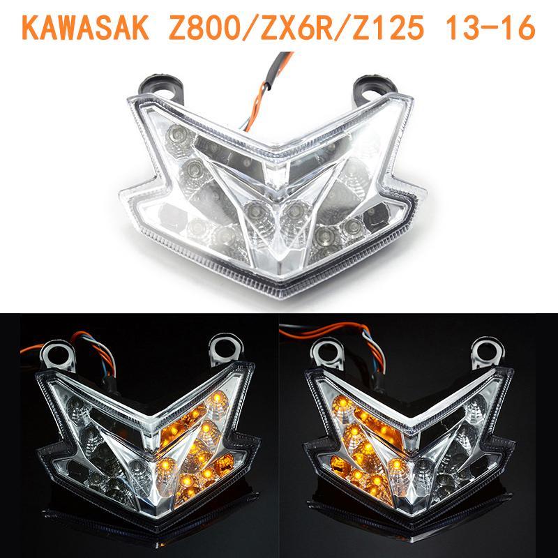 川崎Z800 /  ZX-6R Z125摩托車剎車燈尾燈轉向燈