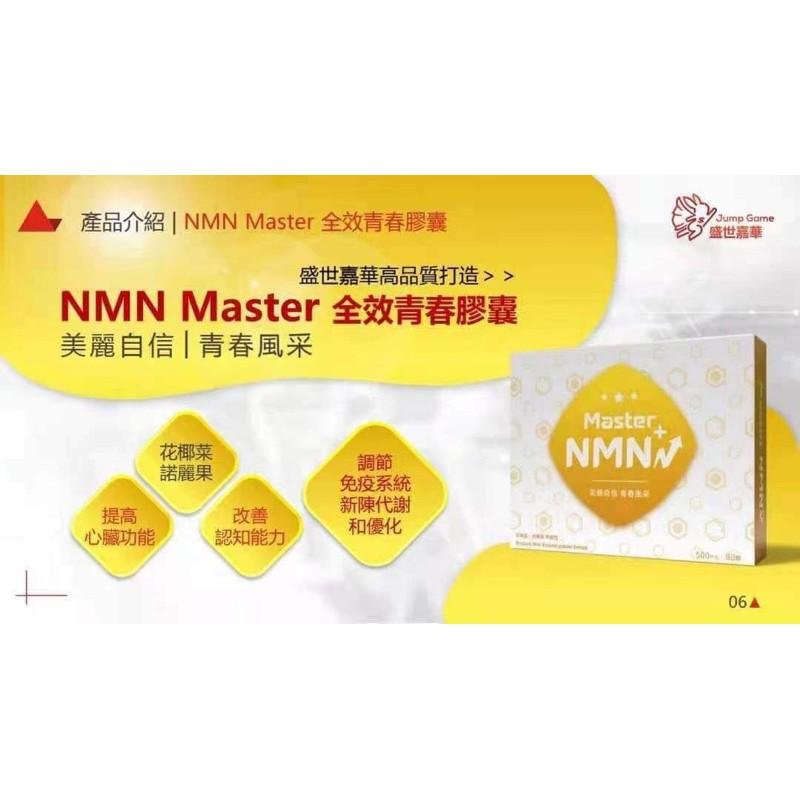 「逆齡」NMN青春膠囊 盛世嘉華是唯一一家可以提供出完整的檢測報告(美國)! 跳寶NMN Master 全效青春膠囊