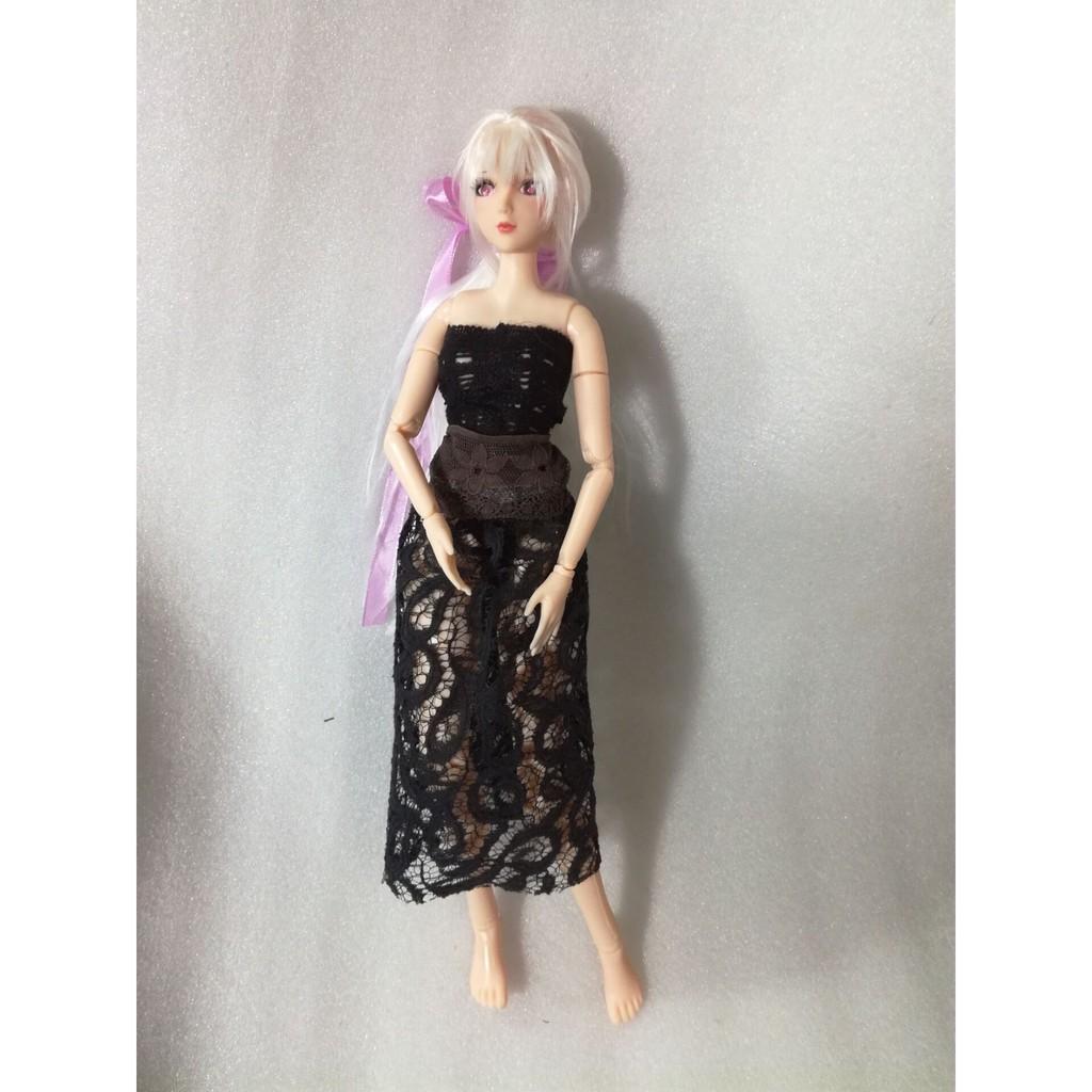 【可插娃娃】小喬娃娃玩偶38cm娃娃-可動性感硬塑手辦日漫弱音人偶-真人版模型