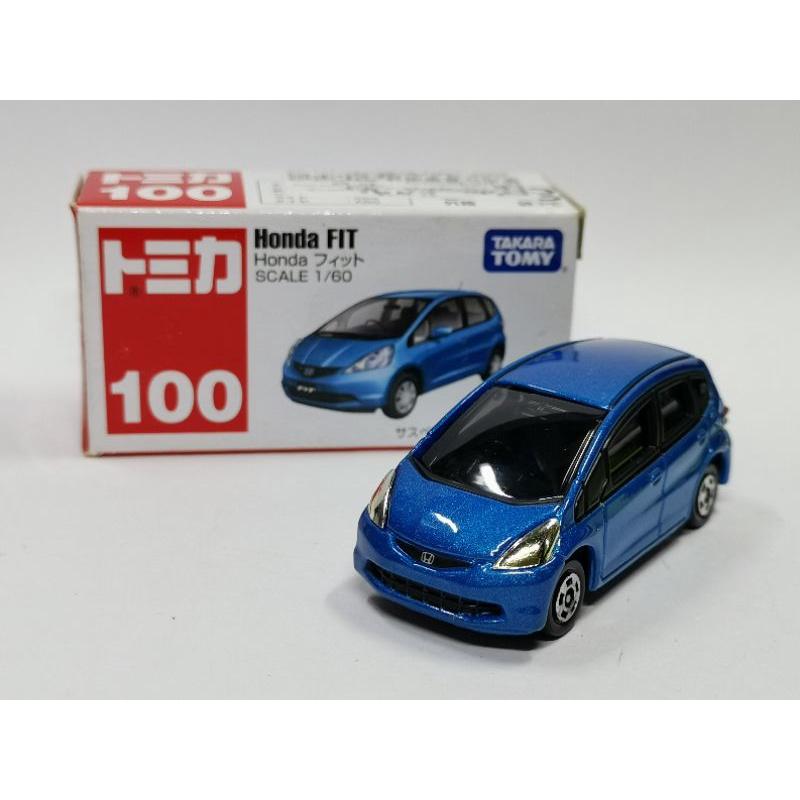 TOMICA No.100 Honda Fit  本田 全新 無封膜