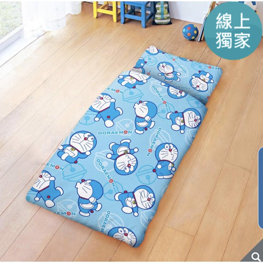 100%純棉卡通兒童睡袋 150 x 120 公分 - 哆啦A夢 經典哆啦