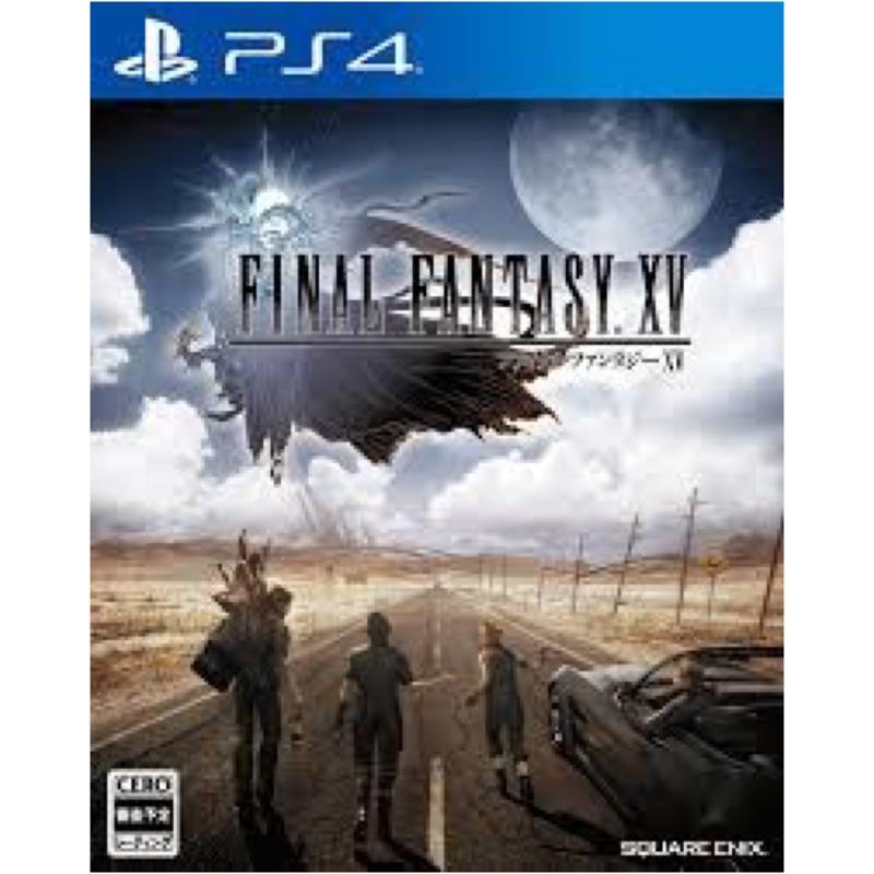 PS4 FF15 中文版 含 隨機特典