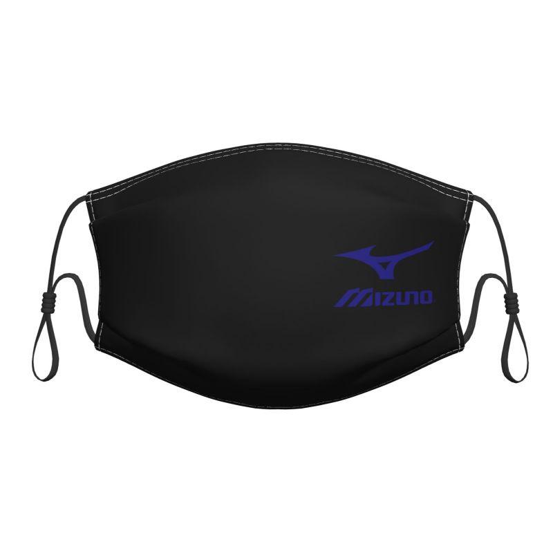 Mizuno 成人口罩 中性 可重復使用的可水洗口罩 防風戶外透氣面罩