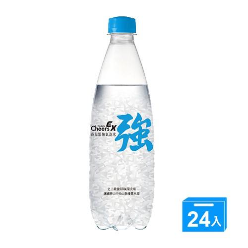 CheersEX強氣泡水500mlx24【愛買】