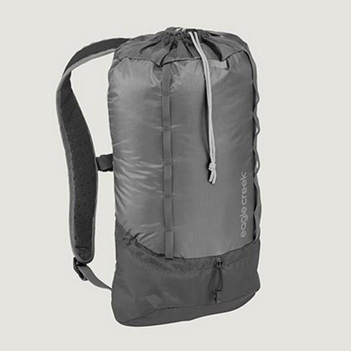 【Eagle Creek美國人氣旅遊配件】RFID超輕量防撕裂雙肩背包13L (石墨色)