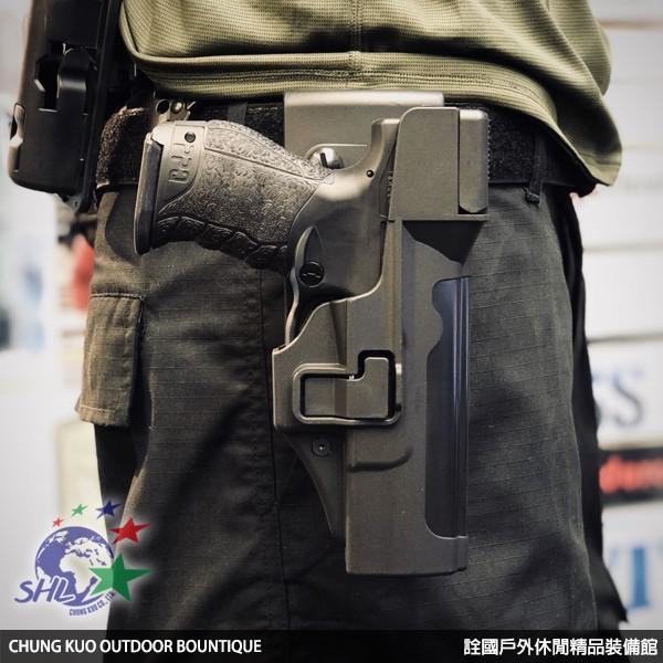 詮國 - Walther PPQ M2 警用防搶快拔槍套 / PPQ鎮暴槍適用 / 勤務槍套