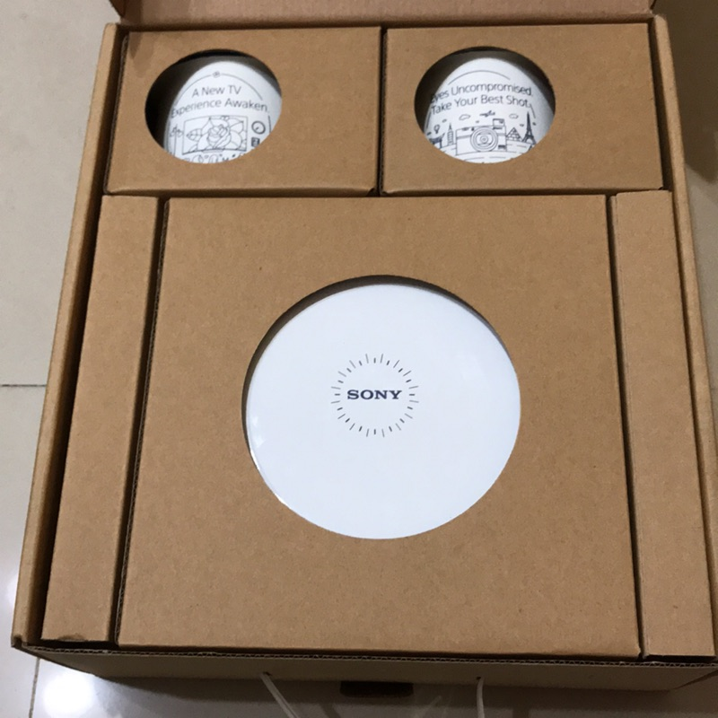 Sony珐瑯杯盤組(珐瑯杯x2,珐瑯盤x2)