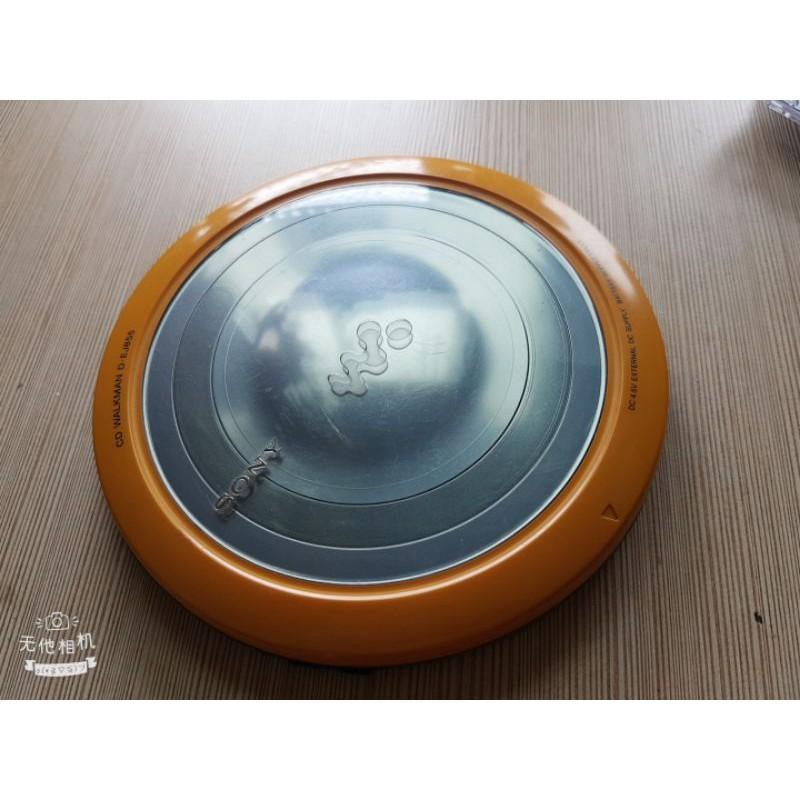(無此款電池可測試,功能不明,不保固,不退換)二手sony新力cd隨身聽D-EJ855(無任何配件)