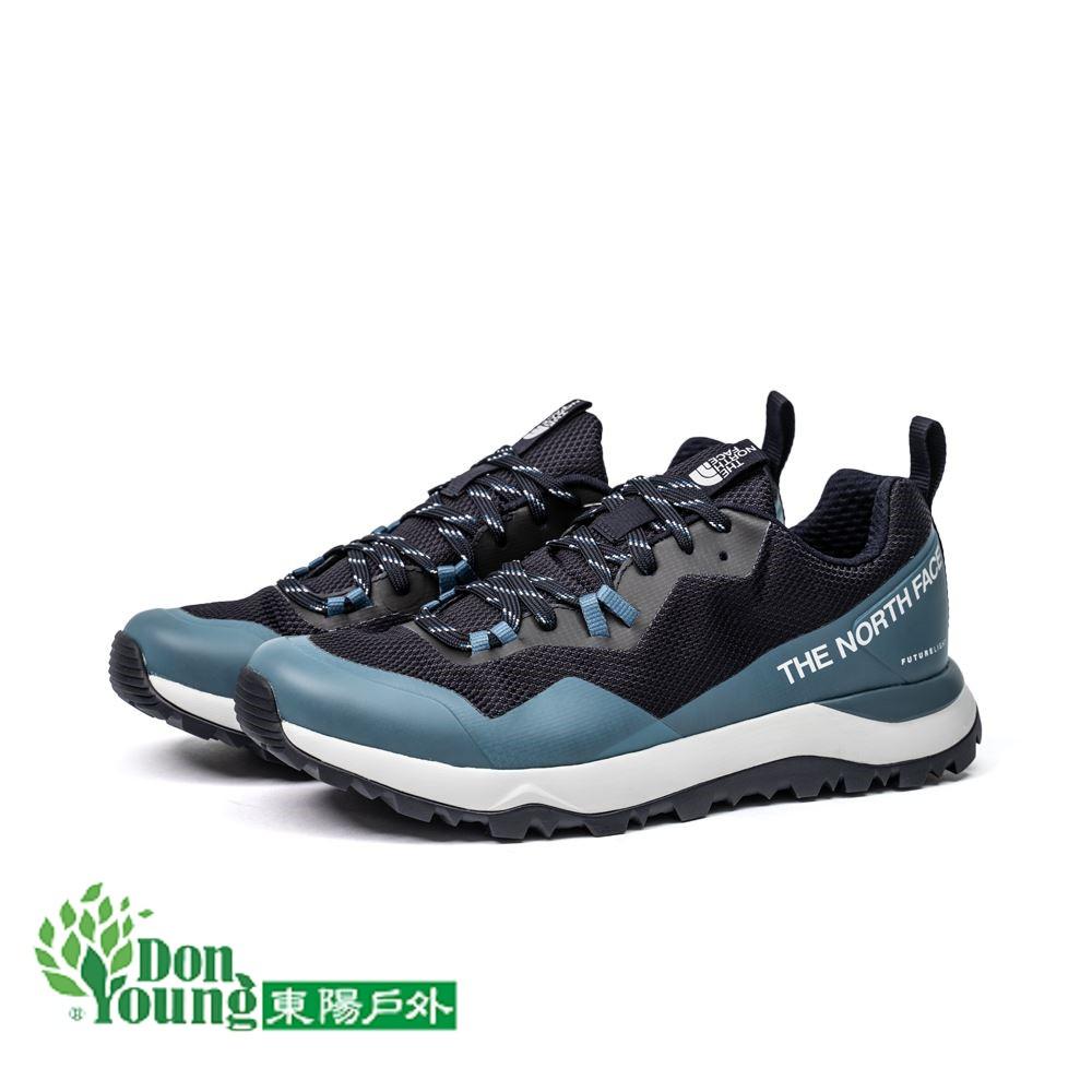 【THE NORTH FACE】2020秋冬新款北面男款藍色防水透氣抓地徒步鞋 登山健行 防水 NF0A3YUPTE8