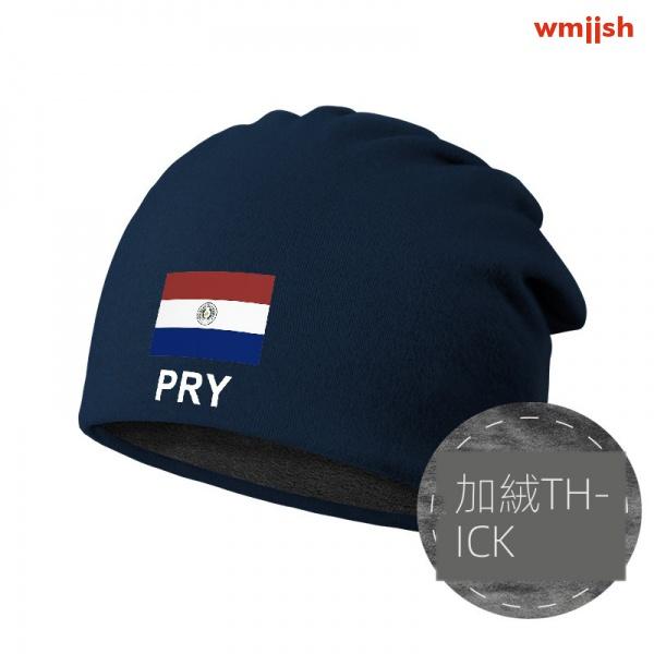 TASK巴拉圭Paraguay包頭帽防風睡加絨堆堆帽子男女保暖圍脖頭巾冬