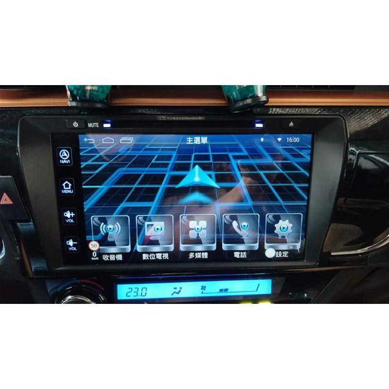 2016年~2017年 TOYOTA Rav4 4.5代、Altis 11代 原廠影音Carmax車美仕鼎天主機破解