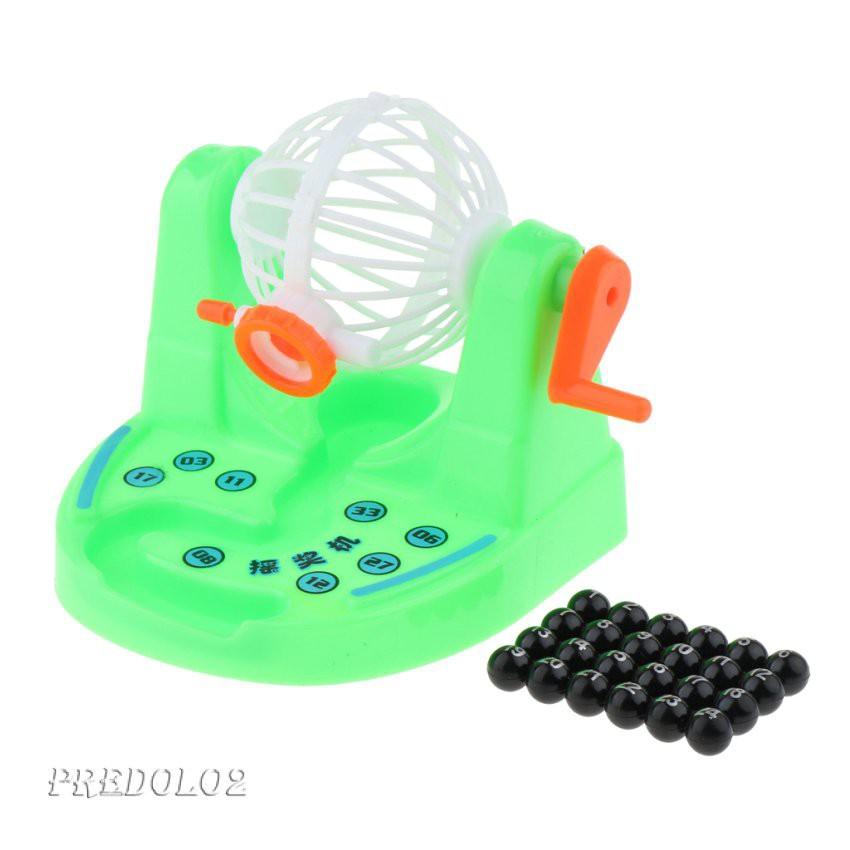 迷你賓果遊戲機, 樂透樂透號碼球, 數字採摘遊戲兒童派對玩具 Dtor