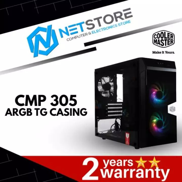 ⭐全新機殼⭐Cooler Master Gaming CMP305 黑色