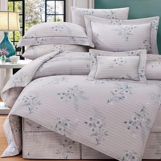 80支頂級雙線銀纖天絲 【雙人 加大 特大組合】規格可選  兩用被床包四件組 七件式鋪棉床罩組 菲尼夏 台中市