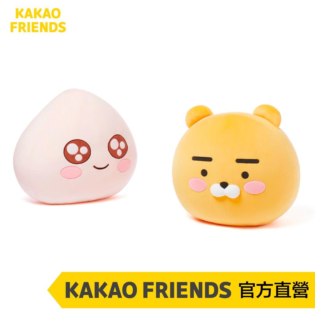 KAKAO FRIENDS 萊恩、桃子 新款大臉抱枕