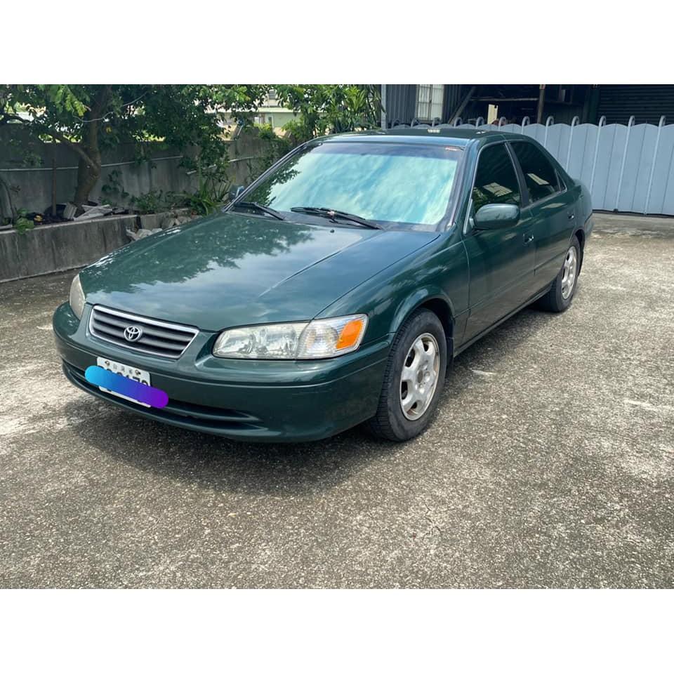 自售 汽車 車況好 TOYOTA 豐田 CAMRY 2.2 綠色 美規 自用小客車 轎車 汽車 不捨得報廢 延續 情懷