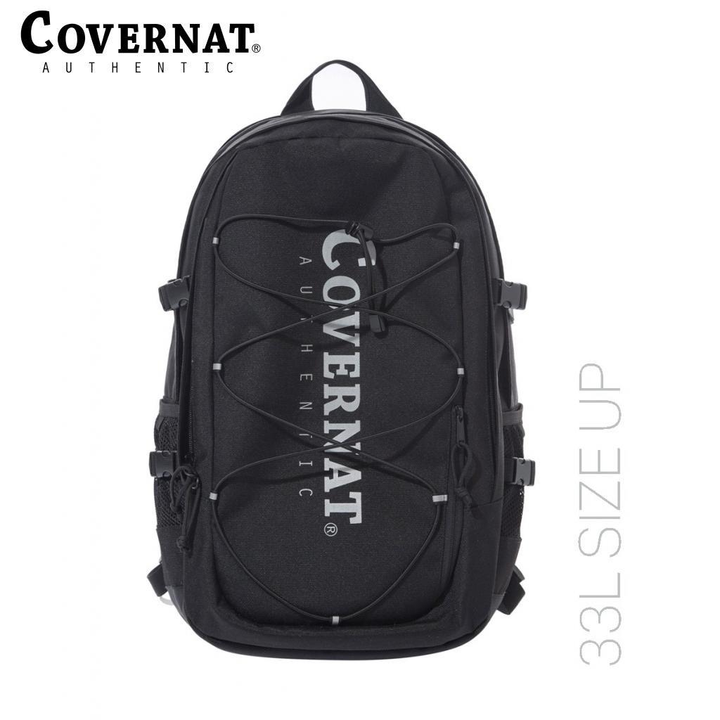 [COVERNAT] 21春夏 Cordura authentic logo 後背包 33L(黑色)