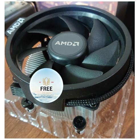 全新AMD Ryzen 原廠風扇 無RGB AM4 R5 3400G 風扇