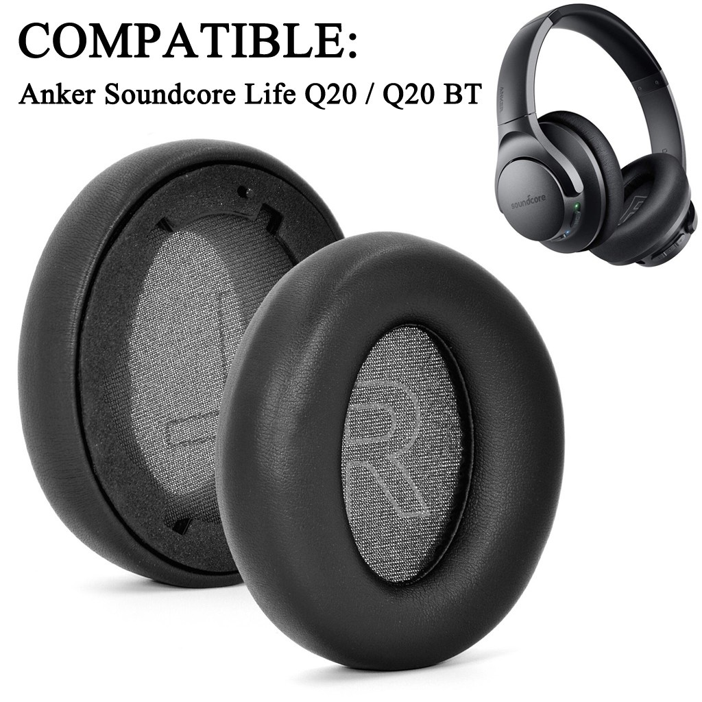 【新款 現貨】替換耳罩 適用於 Anker Soundcore Life Q20 / Q20 BT