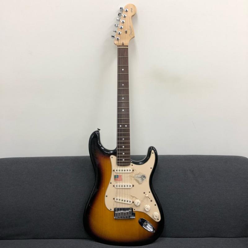 【音牆樂器】Fender 美廠 stratocaster 60th 夕陽漸層 二手