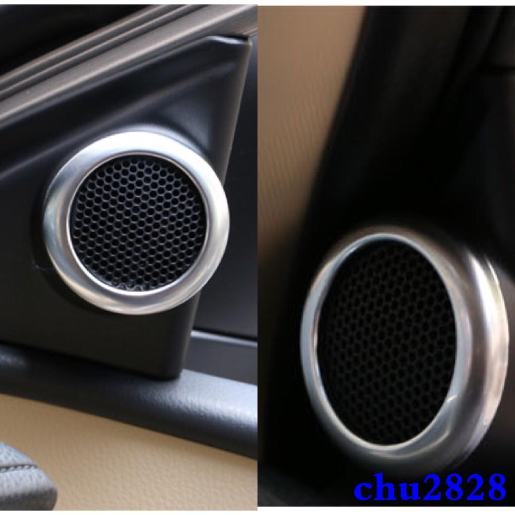 M豐田TOYOTA Altis 2014-2016款 ALTIS 11代 車門喇叭裝飾框 音箱裝飾罩 音響圈 喇叭框裝飾