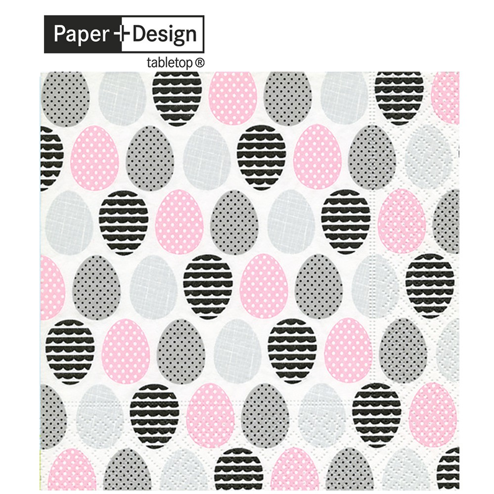 Paper+Design 德國進口餐巾紙 現代的雞蛋 Modern eggs 20張/包
