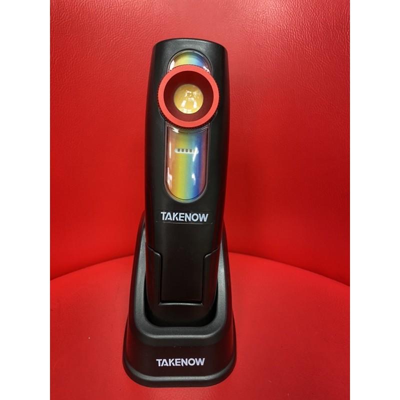 免運 現貨 TAKENOW 鐵朗 充電手持燈 照紋燈 鍍膜檢查燈 LED燈 汽車美容 汽車鍍膜  三種燈光亮度色溫模式