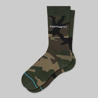 現貨 二色 Carhartt WIP x Stance Camo Socks 聯名 迷彩 長襪 襪子 卡哈特 桃園市