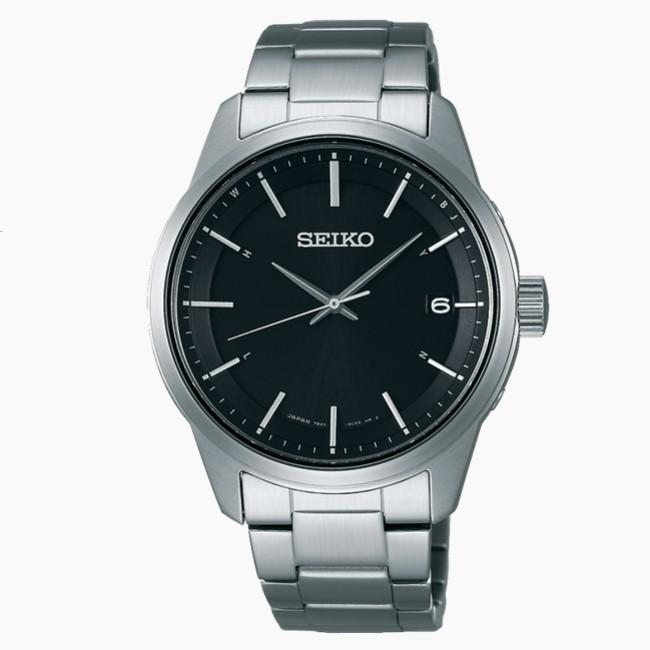 SEIKO 精工 SPIRIT 7B24-0BJ0D 太陽能電波萬年曆腕錶 (SBTM233J)