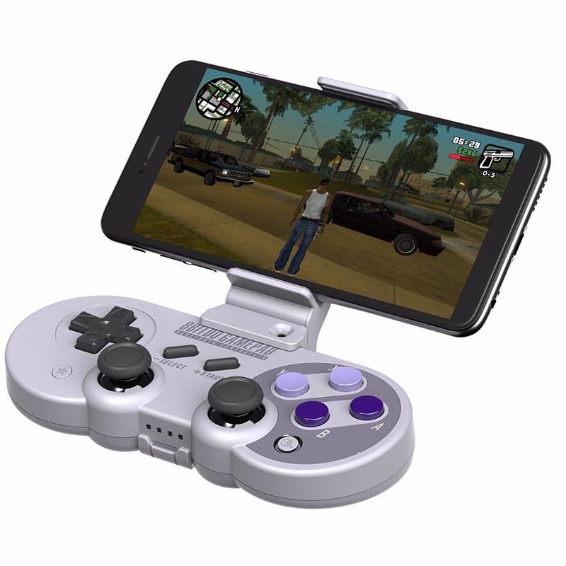 适用于SN30 Pro/SF30 Pro游戏手柄的8Bitdo智能手机夹子Xtander支架安装座 ☆Westyle