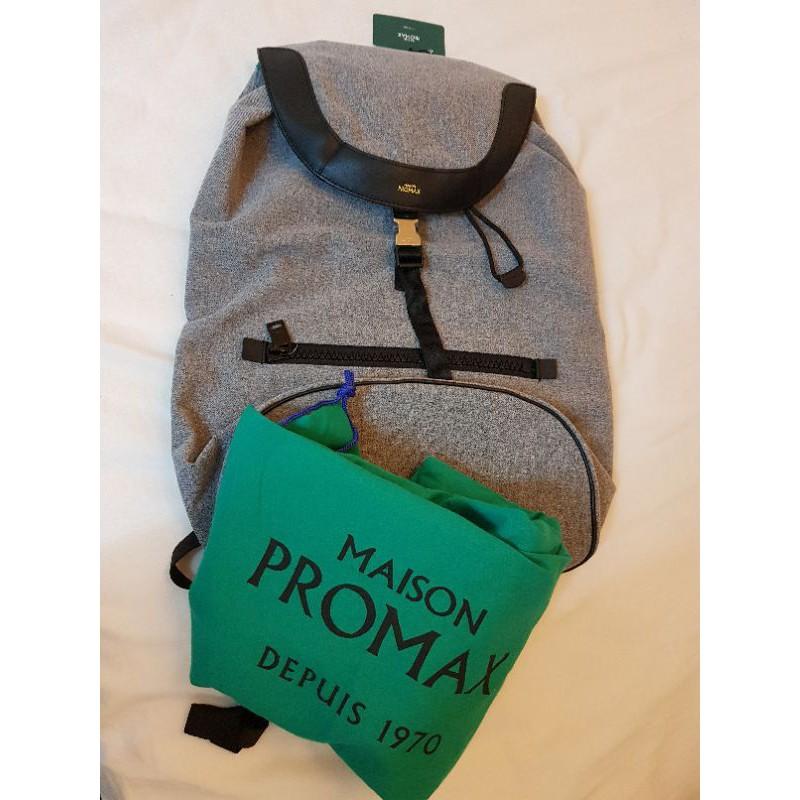 🇨🇵法國🇨🇵 Maison Promax 全新雙肩後背包 原價5500元 台灣結束代理~