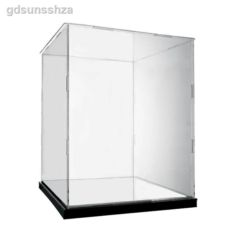 凱旋門天際線亞克力展示盒適用樂高21036 透明防塵盒大手辦收納盒