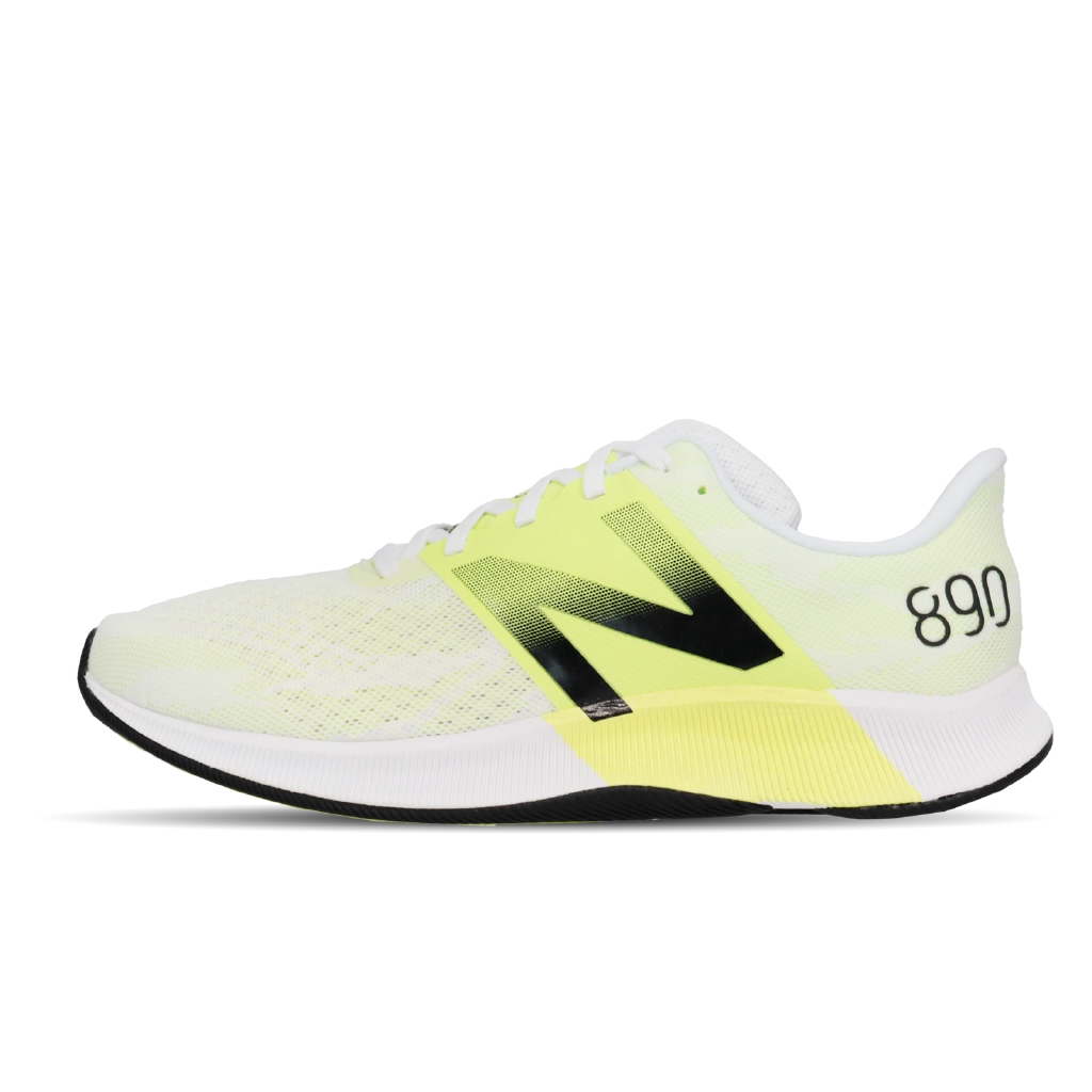 New Balance 890 寬楦 白 螢光黃 慢跑鞋 NB 運動鞋 【ACS】 M890WY8 2E