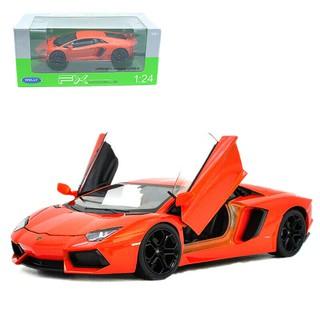【國王玩具】Welly 威利 1:24 1/ 24 藍寶堅尼 Lamborghini LP700-4 金屬 合金車 模型車 屏東縣