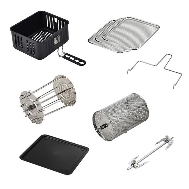 氣炸烤箱 大全配件組合包 適用於AOC 愛迪生 安晴 Copper Chef (K0066-6)