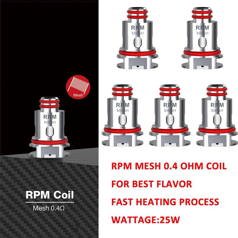 芯子 RPM40 Coil用於RPM40  RPM80 pro/Navo 2/Nord x