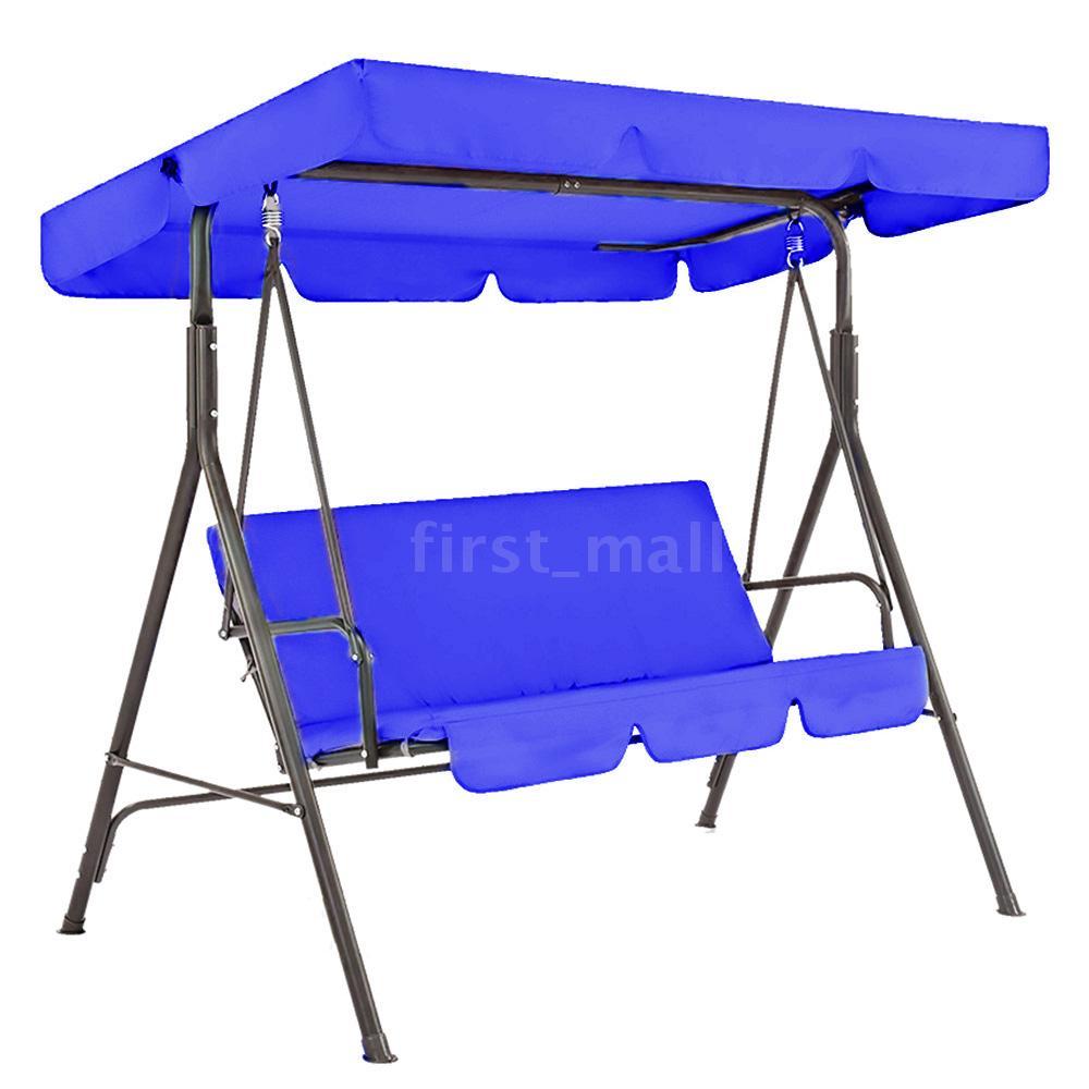 [FMY]花園庭院防水戶外鞦韆座椅套藍色