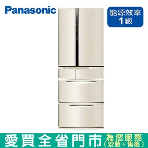 Panasonic國際501L六門變頻冰箱NR-F507VT-N1含配送+安裝【愛買】