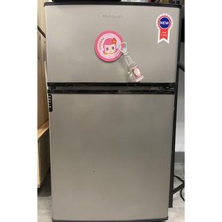 【二手】富及第 Frigidaire 90L 雙門冰箱 FRT-0908M 銀黑款 高雄市