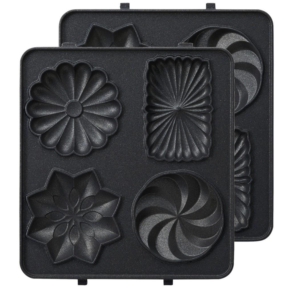 【日本BRUNO】糖果烤盤(熱壓三明治機配件)BOE043-GATEA