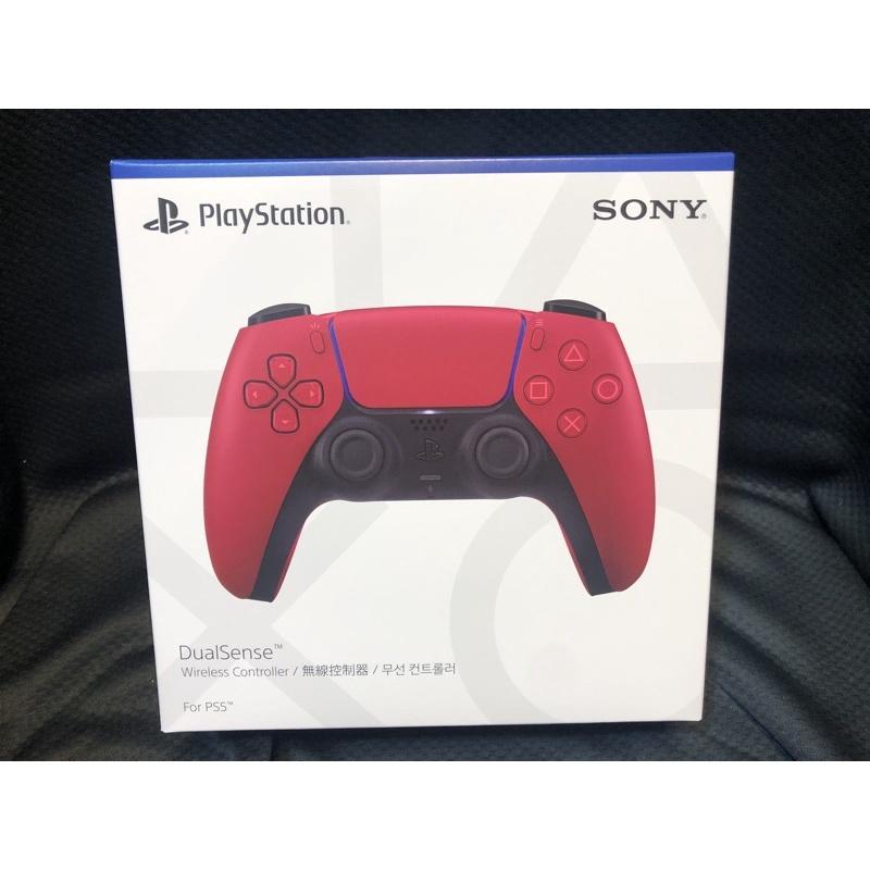 《全新現貨》PS5 原廠無線控制器 星塵紅/午夜黑