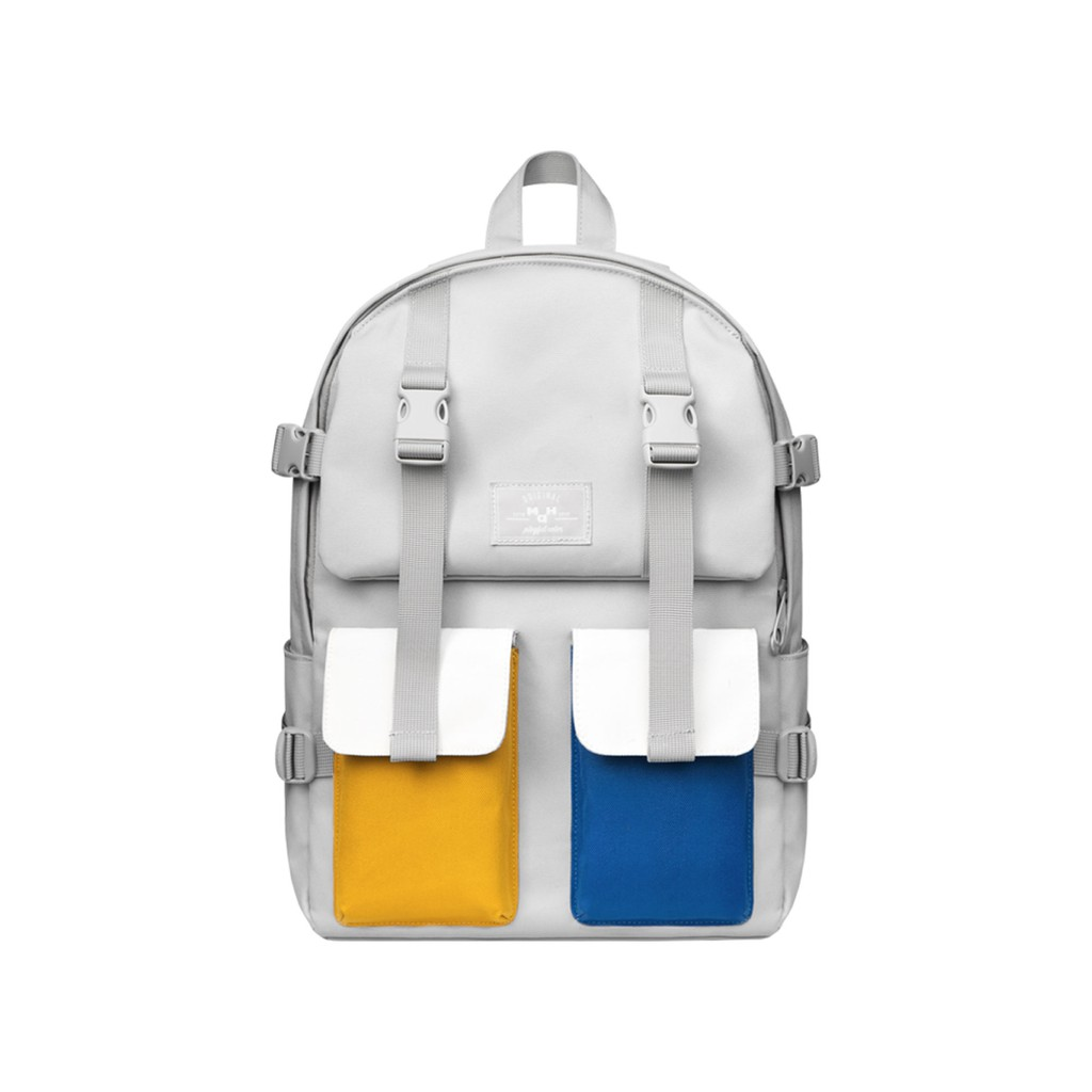 【HC STORE】藍黃機能後背包