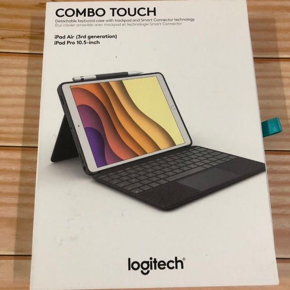 羅技Combo Touch適用ipad pro  air3 10.5寸觸控板 分離式鍵盤