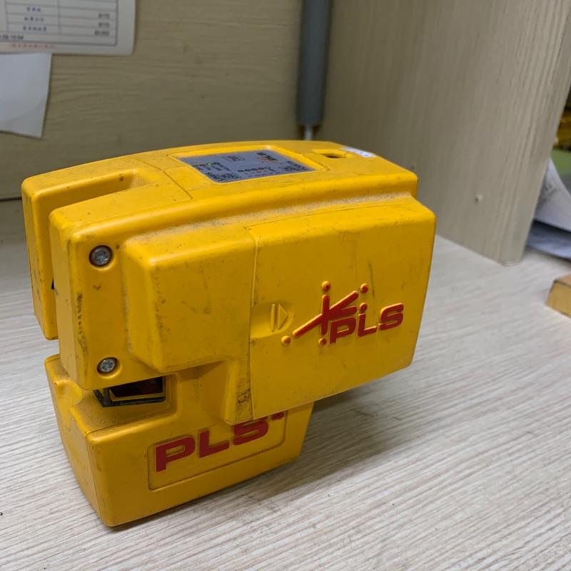 二手的美國外匯 PLS 4紅光 打點儀 雷射儀 雷射水平儀 PLS 4紅光十加上下點雷射儀