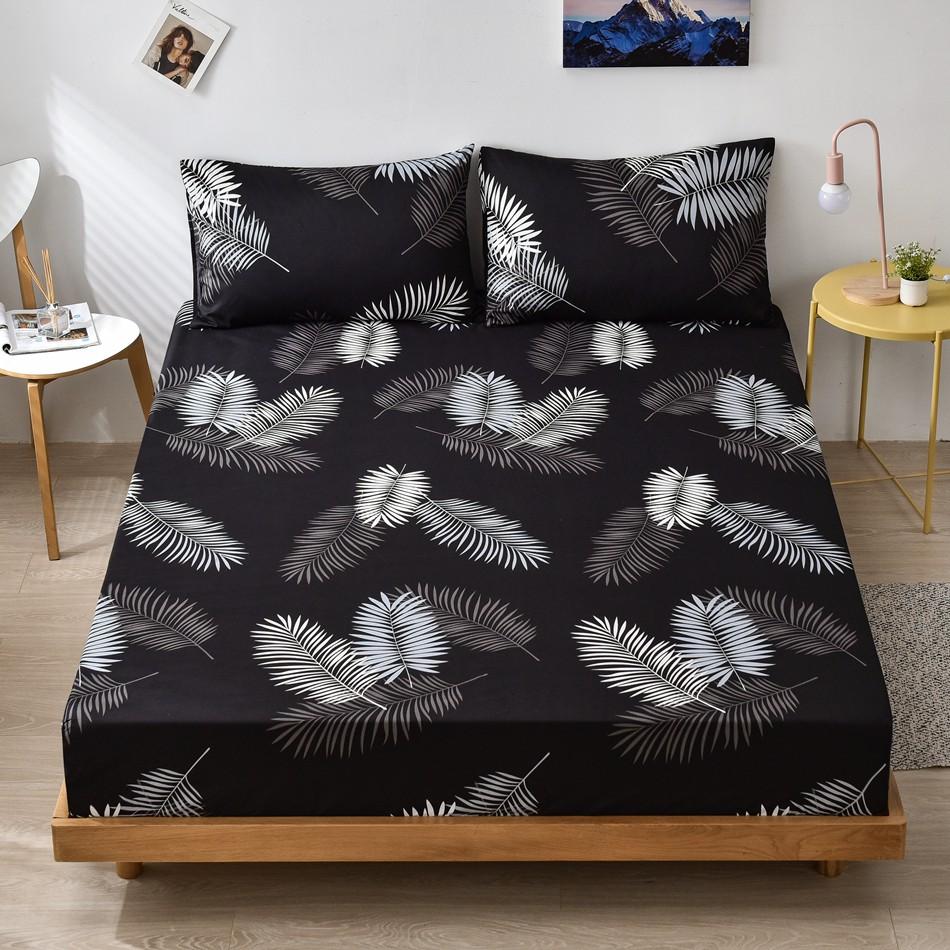 Alls WONDERLAND 床包 床單 床墊保護套帶鬆緊 單人 雙人 加大尺寸 幾何星空花卉火烈鳥獨角獸單床包