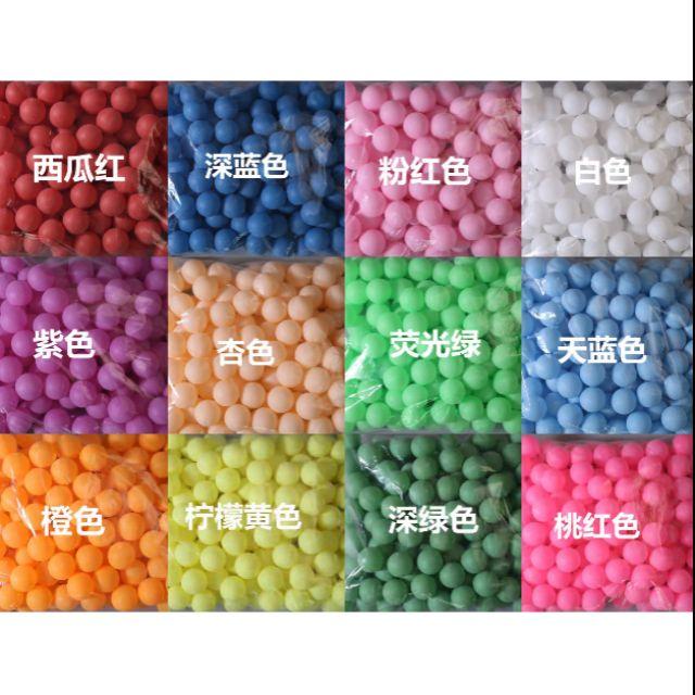【台灣現貨】40mm無縫磨砂加硬彩色 (單色)抽獎乒乓球 摸彩球 扭蛋 轉蛋 摸彩機