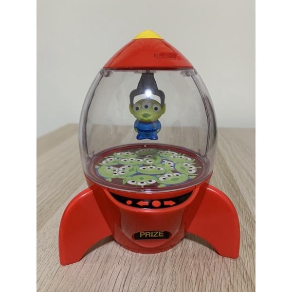 玩具總動員 三眼怪 糖果罐 收納盒 迪士尼 皮克斯 絕版 火箭 稀有 老物 公仔 糖果盒 收納罐