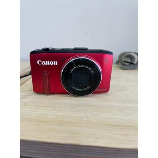 酒紅色中古數位相機 CANON SX280HS 千萬畫數 內建GPS定位+WIFI 附全新充電器 功能全部正常 日本製 桃園市
