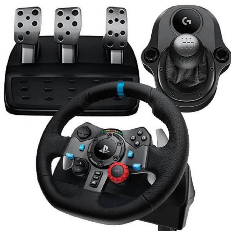 羅技 週邊PS3/PC/PS4 G29 力回饋賽車 方向盤 含排檔座 GT7 駕駛俱樂部【魔力電玩】
