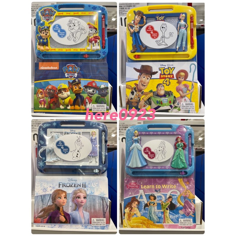 🔸Costco好市多代購🔸迪士尼兒童畫板故事書🔸玩具總動員 冰雪奇緣 汪汪隊 迪士尼公主🔸